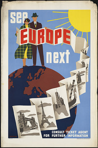 Wall Art, See Europe Next, - PosterGully