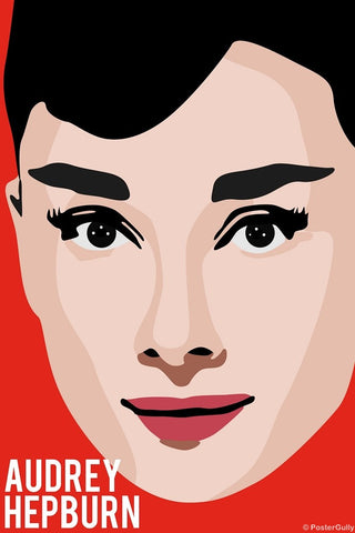 Wall Art, Audrey Hepburn | Pop Red, - PosterGully
