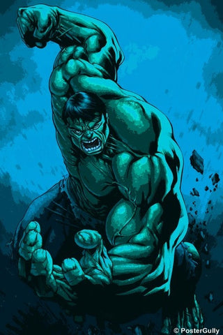 Wall Art, Hulk Paint Art, - PosterGully