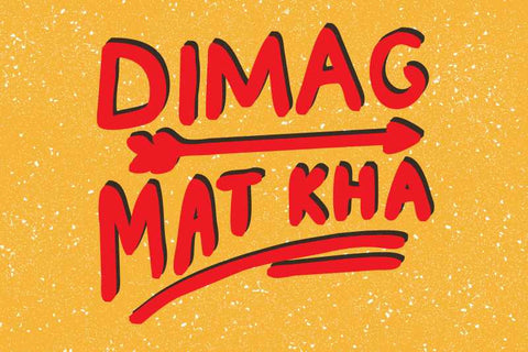 Dimag Mat Kha Pop Color |  PosterGully Specials