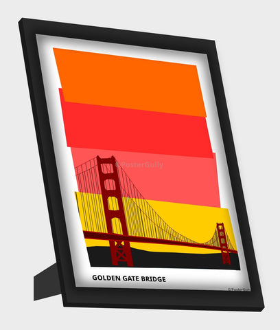 Framed Art, Golden Gate Bridge San Francisco Framed Art, - PosterGully