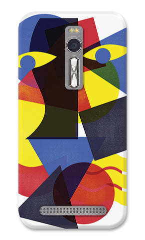 Eyes on You Abstract Above Artwork | Asus Zenfone 2 Cases