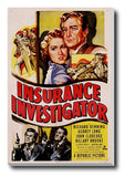 Brand New Designs, Insurance Investigator | Retro Movie Poster, - PosterGully - 3