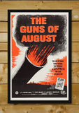 Wall Art, The Guns of August | Retro Movie Poster, - PosterGully - 2
