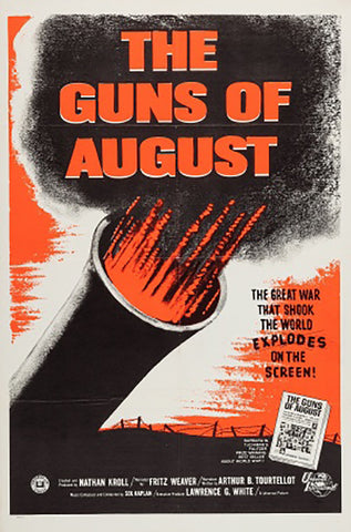 Wall Art, The Guns of August | Retro Movie Poster, - PosterGully - 1