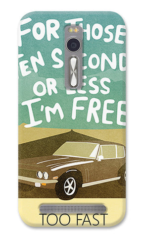 Seconds Blue Fast And Furious | Asus Zenfone 2 Cases