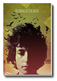 Canvas Art Prints, Bob Dylan Stretched Canvas Print, - PosterGully - 1