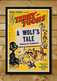 Wall Art, A Wolf's Tale | Retro Movie Poster, - PosterGully - 2