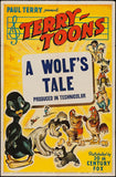 Wall Art, A Wolf's Tale | Retro Movie Poster, - PosterGully - 1