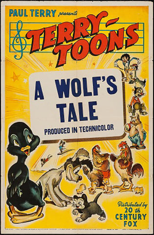 Brand New Designs, A Wolf's Tale | Retro Movie Poster, - PosterGully - 1