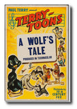 Wall Art, A Wolf's Tale | Retro Movie Poster, - PosterGully - 3
