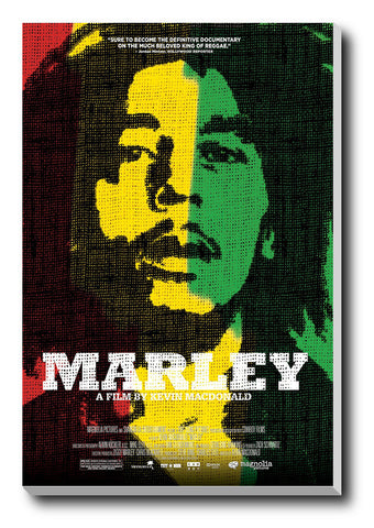 Canvas Art Prints, Bob Marley Stretched Canvas Print, - PosterGully - 1