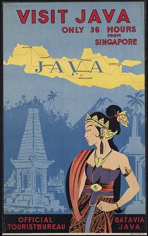 Wall Art, Visit Java, - PosterGully