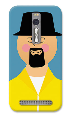 Walter Breaking Bad | Asus Zenfone 2 Cases