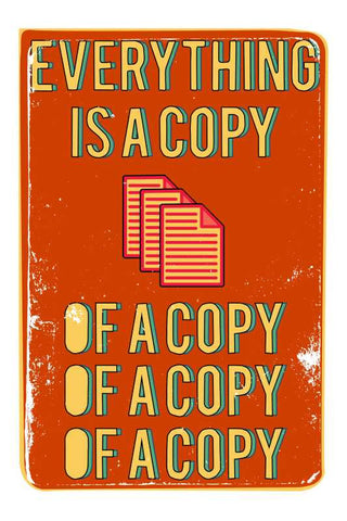 Everything Is A Copy Fight Club |  PosterGully Specials
