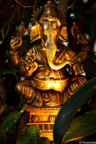 Wall Art, Lord Ganesha, - PosterGully