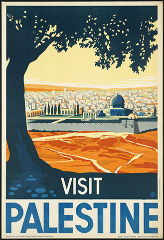 Wall Art, Visit Palestine, - PosterGully