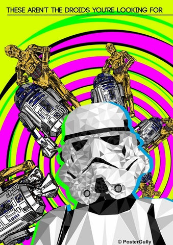 Wall Art, Stormtrooper Droids Artwork, - PosterGully