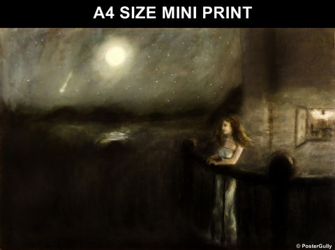 Mini Prints, Girl In The Castle | Mini Print, - PosterGully