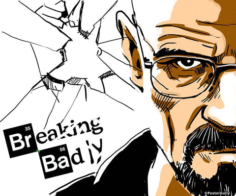 Brand New Designs, Breaking Bad 2 Artwork | Artist: Soumesh Choudhury, - PosterGully - 1