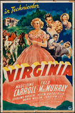 Wall Art, Virginia | Classic Movie Poster, - PosterGully - 1