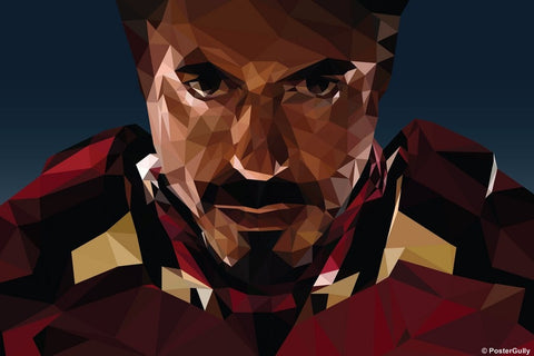 Wall Art, IronMan Artwork | Abhishek Aggarwal, - PosterGully