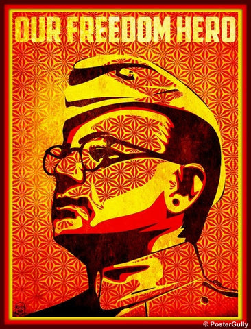 Wall Art, Subhash Chandra Bose, - PosterGully