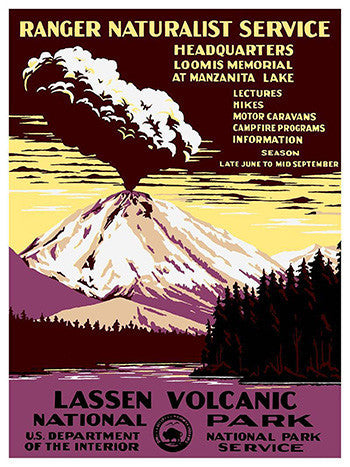 Wall Art, Lassen Volcani National Park, - PosterGully