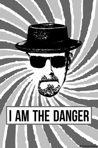 Wall Art, I Am The Danger | Breaking Bad Artwork, - PosterGully