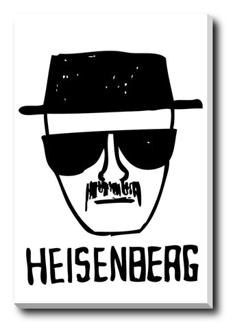Canvas Art Prints, Breaking Bad | T.V Series Stretched Canvas Print, - PosterGully - 1