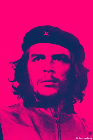 Wall Art, Che Guevara Pink, - PosterGully