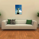Canvas Art Prints, Christ The Redeemer Stretched Canvas Print, - PosterGully - 3