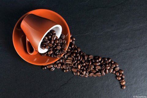 Wall Art, Coffee Beans, - PosterGully