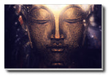 Canvas Art Prints, Buddha Stretched Canvas Print, - PosterGully - 1