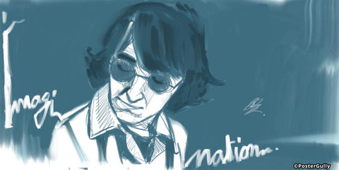 Brand New Designs, John Lenon Beatles Artwork | Artist: Soumesh Choudhury, - PosterGully - 1