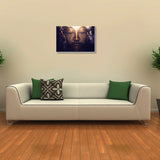 Canvas Art Prints, Buddha Stretched Canvas Print, - PosterGully - 3
