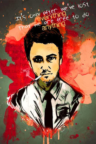 Wall Art, Fight Club Artwork | Artist: Kaushal Faujdar, - PosterGully