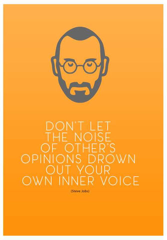 Wall Art, Steve Jobs Thought Artwork | Artist: Pankaj Lewarikar, - PosterGully