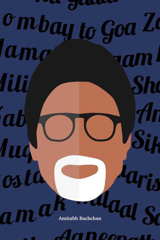 Amitabh Bachchan Pop Art |  PosterGully Specials