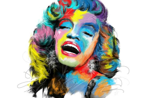 Brand New Designs, Marilyn Monroe Artwork | Artist: Pradeesh K, - PosterGully