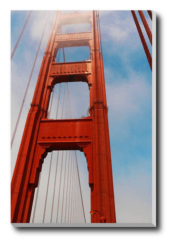 Canvas Art Prints, Divinity | Golden Gate Bridge Stretched Canvas Print, - PosterGully - 1