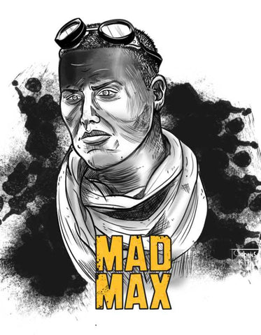 Wall Art, Mad Max Artwork  | Artist: Sachin Sivakumaran, - PosterGully