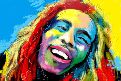 Brand New Designs, Bob Marley Artwork  | Artist: Pradeesh K, - PosterGully