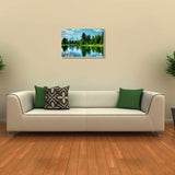 Canvas Art Prints, Calm Sunset Stretched Canvas Print, - PosterGully - 3