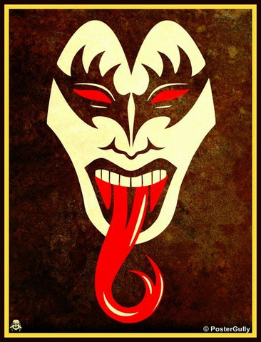 Wall Art, Face Off KISS, - PosterGully