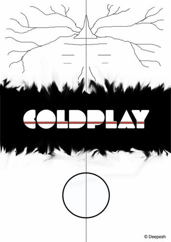 Wall Art, Coldplay Album Minimal Artwork, - PosterGully