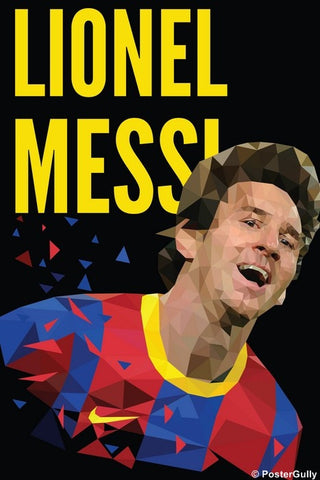 Wall Art, Lionel Messi Artwork | Abhishek Aggarwal, - PosterGully