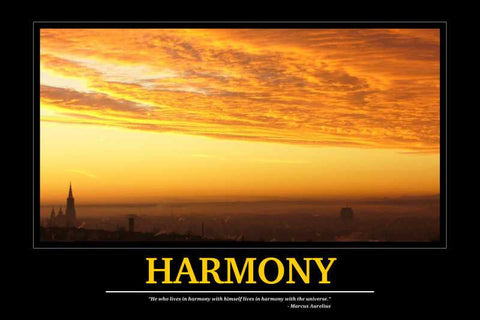 Harmony Motivational |  PosterGully Specials