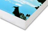 Canvas Art Prints, Flower In The Sky Stretched Canvas Print, - PosterGully - 2