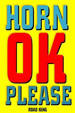 Horn OK Please Popart |  PosterGully Specials